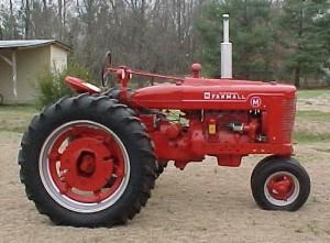 Farmall-tractor