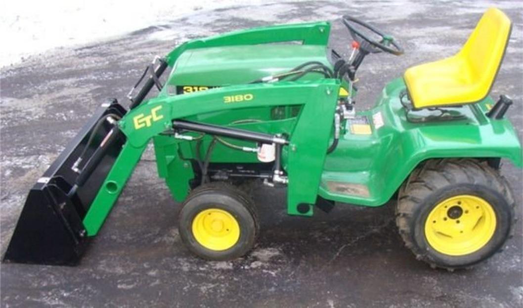 Smallest Garden Tractor With Bucket : Garden tractors today