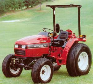 Mitsubishi-Tractor