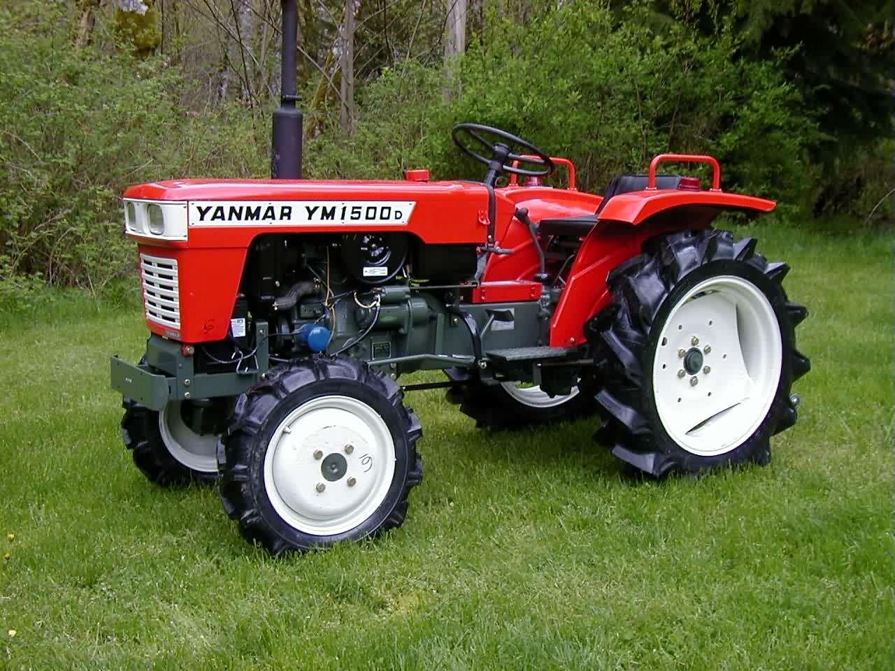 Antique Yanmar Tractors : Restoring old farm tractors today