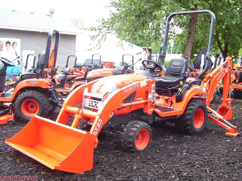 Kubota Tractor Loader Forklift : Kubota bx review tractors today